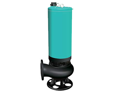 WQS filled water sewage pump