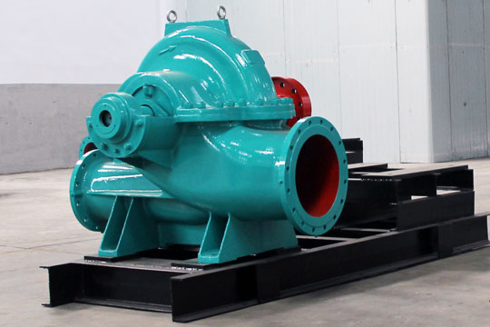 Horizontal single suction multi-stage centrifugal pump in Zhengzhou Subway