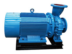 SLWD  low speed Horizontal pipeline booster pump