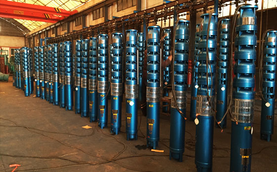 QJ deep well multi-stage submersible pump