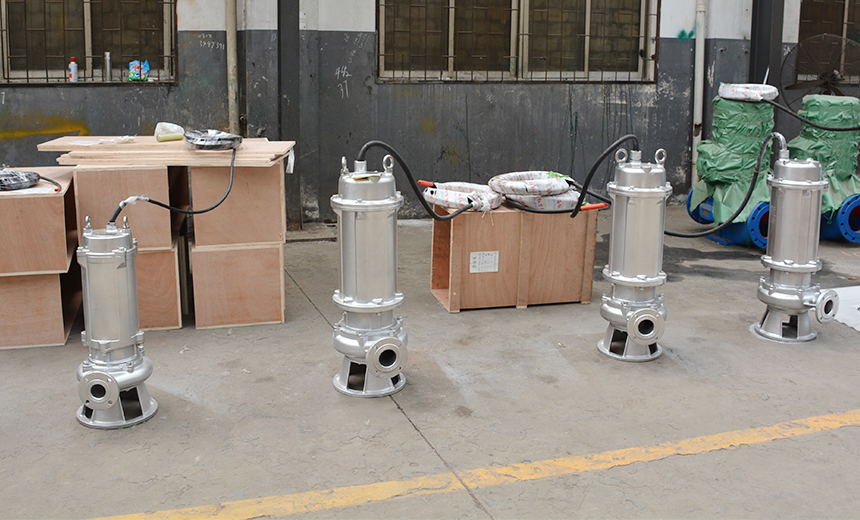 stainless steel sewage pump03