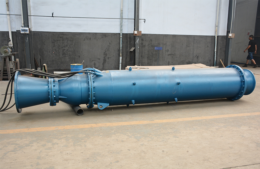 Bottom Suction Submersible Pump for Mine Pit Draining Water