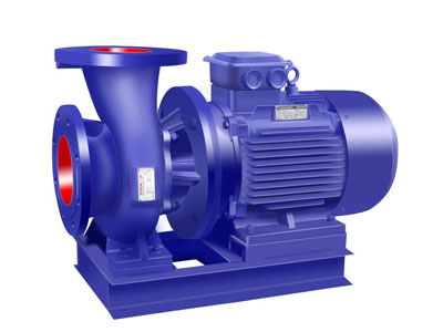 SLW horizontal pipeline booster pump