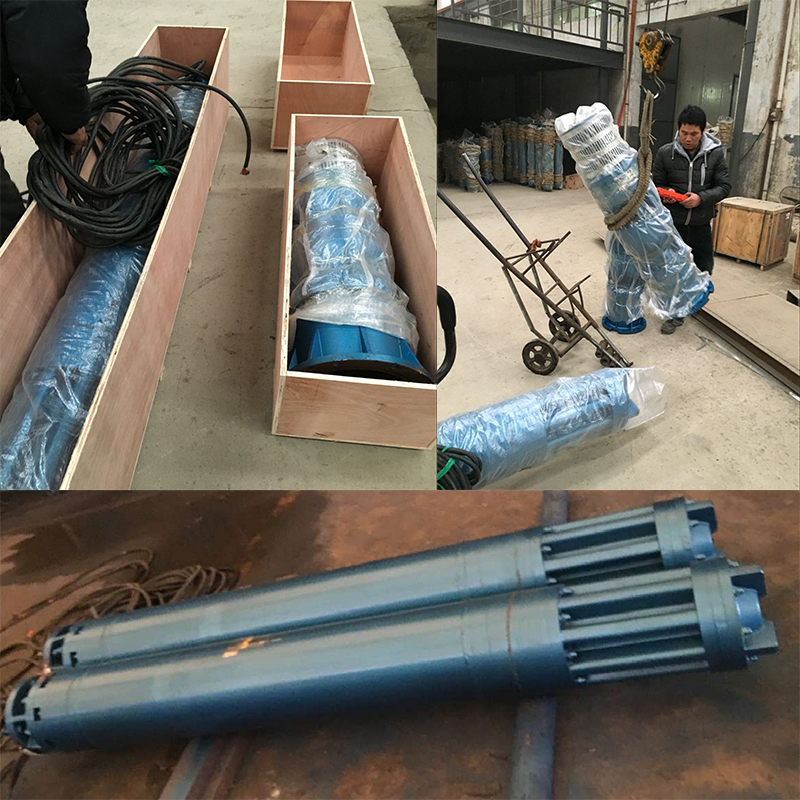 Bangladesh customers order deep well pump shipped in accordance with the contract