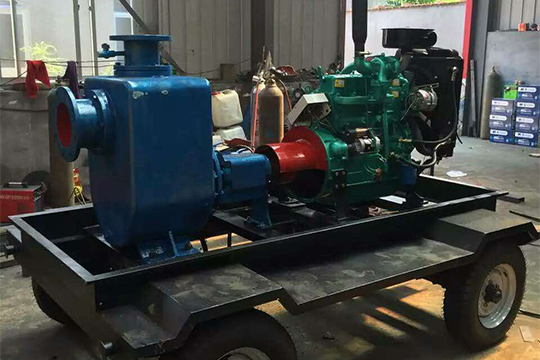 ZX/ZW self-priming diesel engine pump